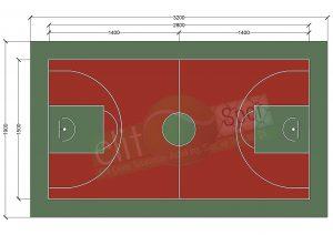 spor sahaları, basketbol