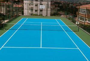 spor sahaları-tenis Kortu